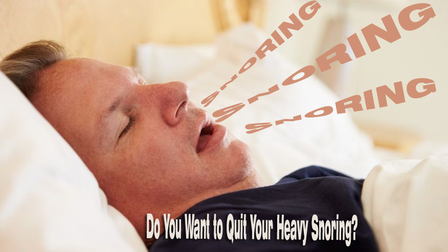 Try out These Methods to Quit Your Heavy snoring During The Night